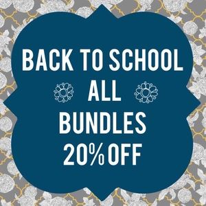 All Bundles 20% Off Back to School